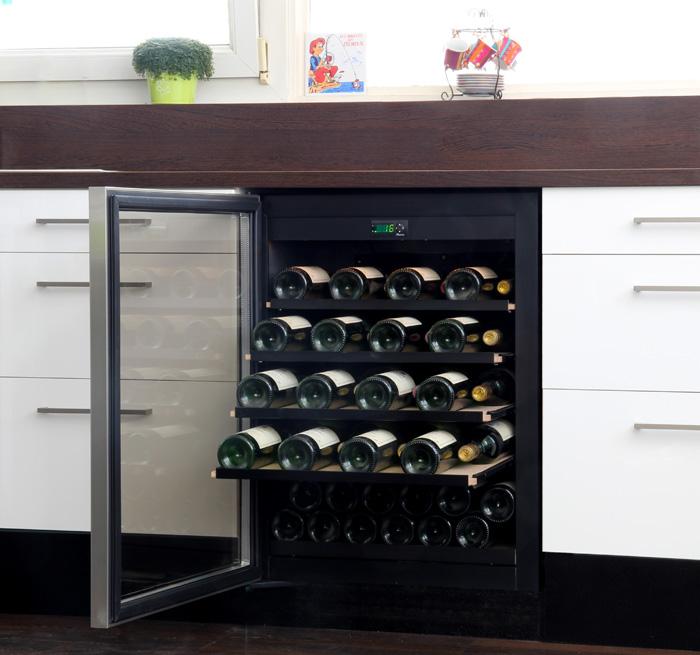 la cave vin pour la cuisine. Black Bedroom Furniture Sets. Home Design Ideas