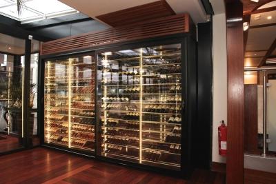 cave a vin sur mesure vitr e de luxe fabricant tastvin paca. Black Bedroom Furniture Sets. Home Design Ideas